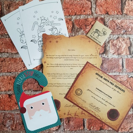 magic santa letter discount code