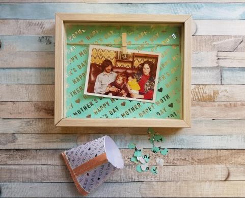 hanging peg frame craft box frame